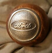 Ford Oem Manual Wooden Shifter Knob Handle