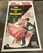 The Barkleyand039s Of Broadway 3 Sheet Movie Poster Astaire Rogers Hollywood Posters