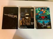 Lot Of 3 Dc Graphic Novels Used Condition - Batman, Superman