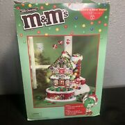 Mandmandrsquos Christmas Candy Shoppe Lighted House And Candy Dish Rare