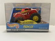 Vintage Hot Wheels Monster Jam Prowler Monster Truck New Rare Collectible