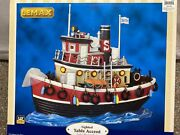 Lemax Village Collectible Salty The Tugboat Lighted Table Accent 94990