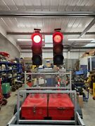 Traffic Lights Pike Led Radio With Trailer Light Battery 2 Way Master