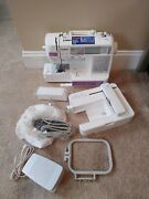 New Brother Se400 Computerized Lcd Touch Screen Sewing And Embroidery Machine