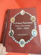 A Pottery Panorama Old Vintage History Dudson Porcelain Book Antique Guide