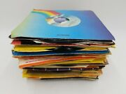 Lot Of 63 45rpm Vinyl Records Mostly Oldies