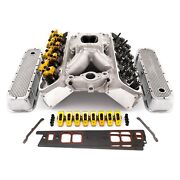 Pce Street Series Cylinder Head Top End Engine Combo Kit Chevy Big Block V8