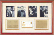 Saul Bellow - First Day Cover Signed With Co-signers