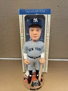 Babe Ruth New York Yankees Cooperstown Collection Rare Htf Nib 2003 Bobblehead