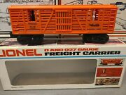 Lionel Outlaw Car 6-7900 O And 027 Gauge Freight Carrier