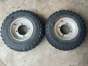 1988-2006 Yamaha Blaster 200 Front Rims And Tires