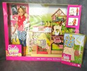 Barbie Sweet Orchard Farm Vet Doll And Animals Playset W/extra Outfit Blonde New