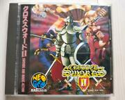 Snk 1995 Crossed Sword 2 Neo Geo Cd Japanese Retro Game Used Shipping From Japan