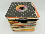 Lot Of 80 45rpm Vinyl Records Mostly Oldies