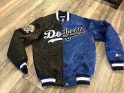 Los Angeles Dodgers 100th Anniversary Edition Starter Satin Jacket Men's Small