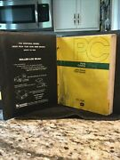 Vintage John Deere 7020 Tractor Parts Catalog Pc1236w/binder-good Used Condition