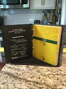 Vintage John Deere 1530 Tractor Parts Catalog Pc-4133 W/binder - Used Condition