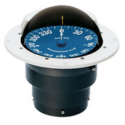 Ritchie Compass Ss-5000w Ritchie Supersport Compass Flush Mount - White