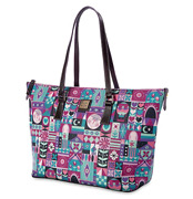 New Disney Dooney And Bourke Itand039s A Small World Shopper Tote Bag Purse