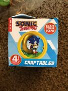 Sonic Hedgehog Craftable Build Your Scene Figure Metal And Sonic + Tails New Sega