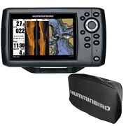 Humminbird 410230-1cover Helix 5 Chirp Si Gps G2 Combo W/ Free Cover