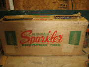 Vintage Sparkler Aluminum Christmas Tree 6andrsquo Star Band Co.