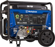 Westinghouse Wgen7500 Portable Generator With Remote Electric Start 7500 Rated W
