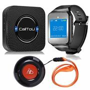 Calltou Wireless Caregiver Pager Call Button Nurse Alert System Vibration Pager