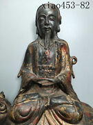 Old Collection Antique Chinese Pure Copper Nijin Buddha Statue One