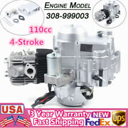 110cc 4 Stroke Engine Atvs Go Karts Motor Electric Start Air Cooling Chain Drive