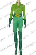Batman And Robin Poison Ivy Cosplay Costume Green Uniform Suit Full Set