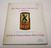 The Beer Can Collector Of America Guide First Edition 1st Printing 1975 Book Stl
