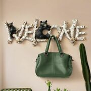 Decorative Wall Hook Adhesive Hanger Rack For Key Hanging Clothes Living Room