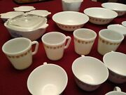 Corning- Corelle Huge Lot-90 Pcs -cookware Serving Tableware Must See
