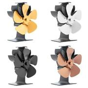5 Blades Eco-friendly Stove Fan On Chimney For Wood Log Burner Fireplace Quiet