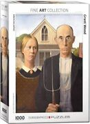 Eurographics 1000 Piece Jigsaw Puzzle - Grant Wood's American Gothic