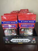 Lot Of 57 2020 Panini Prizm Football Cello Pack Brand New With Prizm Display Box