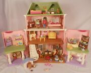 Fisher Price Loving Family Grand Mansion Victorian Dollhouse Furnished W Family