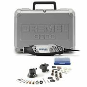 Dremel 3000-2/28 Variable Speed Rotary Tool Kit- 1 Attachments And 28 Accessories-