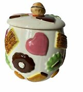1950and039s Napco Cookie Jar Cookies All Over Made In Japan Vintage