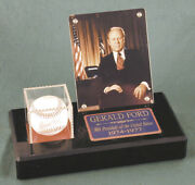 Gerald R. Ford - Baseball Signed