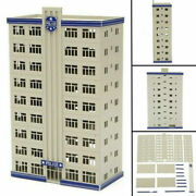 Outland Models Railway Police Department Headquarter Station Building N Scale