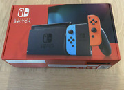 2 Boxes Of Brand New Nintendo Switch 32 Gb Gaming Console With Full Accessories