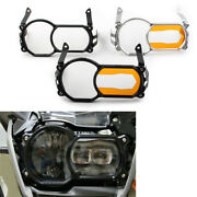 Headlight Lens Protector Guard Cover Acrylic Patch For Bmw R1200gs Lc Adventure