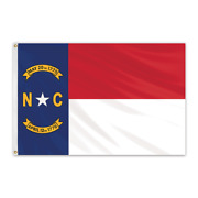 Global Flags Unlimited 200512 North Carolina Outdoor Nylon Flag 12'x18'