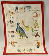 Cloth Kitchen Towel 12 Days Of Christmas By Williams-sonoma