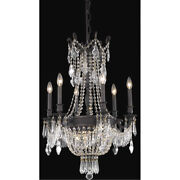 Asfour Crystal Dark Bronze French Empire High Quality 9 Light 34 Chandelier