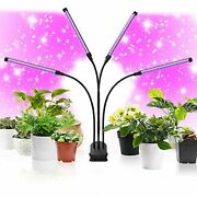 Led Grow Light 90w 120 Leds 4 Head Timing Dimmable Levels Plant Grow Lights For