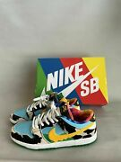 Menand039s Size 10.5 - Nike Sb Dunk Low Ben And Jerryand039s Chunky Dunky Low Pro Qs