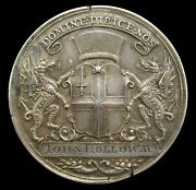 1801-1815 Stock Brokers Pass Silver Medal By Milton - Naylor Type 5